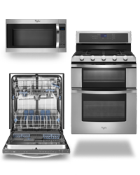 Whirepool Stanless Steel Appliances